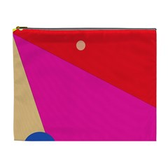 Colorful Abstraction Cosmetic Bag (xl) by Valentinaart