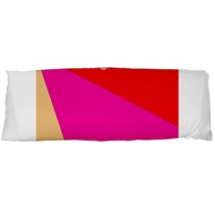 Colorful Abstraction Body Pillow Case (dakimakura) by Valentinaart