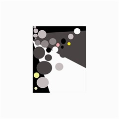 Gray, Yellow And Pink Dots Collage Prints