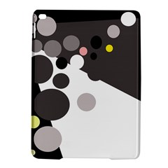 Gray, Yellow And Pink Dots Ipad Air 2 Hardshell Cases by Valentinaart