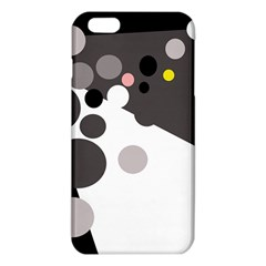 Gray, Yellow And Pink Dots Iphone 6 Plus/6s Plus Tpu Case by Valentinaart