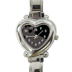 Colorful Dots Heart Italian Charm Watch by Valentinaart