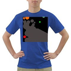 Colorful dots Dark T-Shirt by Valentinaart
