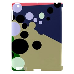 Elegant Dots Apple Ipad 3/4 Hardshell Case (compatible With Smart Cover) by Valentinaart