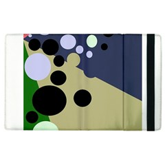 Elegant Dots Apple Ipad 3/4 Flip Case by Valentinaart