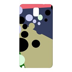 Elegant Dots Samsung Galaxy Note 3 N9005 Hardshell Back Case by Valentinaart