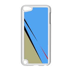 Elegant lines Apple iPod Touch 5 Case (White) by Valentinaart