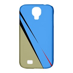 Elegant Lines Samsung Galaxy S4 Classic Hardshell Case (pc+silicone) by Valentinaart