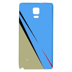 Elegant Lines Galaxy Note 4 Back Case by Valentinaart