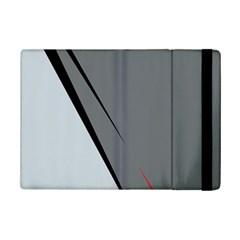 Elegant Gray Ipad Mini 2 Flip Cases by Valentinaart