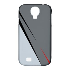 Elegant Gray Samsung Galaxy S4 Classic Hardshell Case (pc+silicone) by Valentinaart