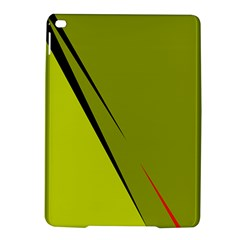 Yellow Elegant Design Ipad Air 2 Hardshell Cases by Valentinaart