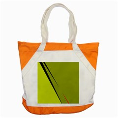 Yellow Elegant Design Accent Tote Bag by Valentinaart