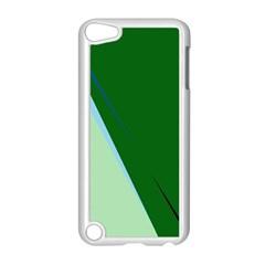 Green design Apple iPod Touch 5 Case (White)
