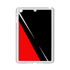 Black And Red Design Ipad Mini 2 Enamel Coated Cases by Valentinaart