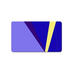 Geometrical Abstraction Magnet (name Card) by Valentinaart