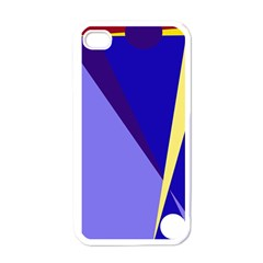 Geometrical Abstraction Apple Iphone 4 Case (white) by Valentinaart