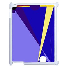 Geometrical Abstraction Apple Ipad 2 Case (white) by Valentinaart