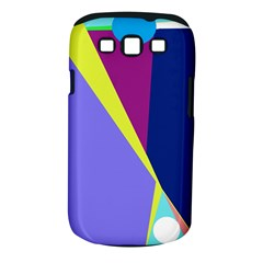 Geometrical Abstraction Samsung Galaxy S Iii Classic Hardshell Case (pc+silicone) by Valentinaart