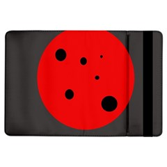 Red Circle Ipad Air Flip by Valentinaart
