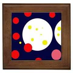 Abstract Moon Framed Tiles by Valentinaart