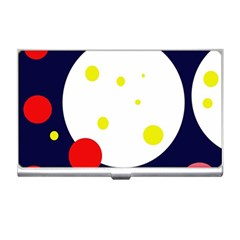 Abstract Moon Business Card Holders by Valentinaart