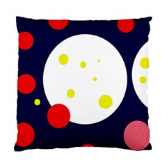 Abstract Moon Standard Cushion Case (two Sides) by Valentinaart