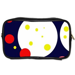 Abstract Moon Toiletries Bags by Valentinaart