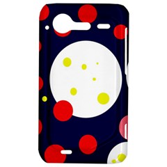 Abstract moon HTC Incredible S Hardshell Case