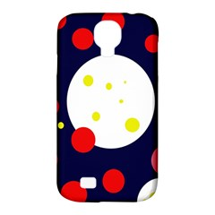 Abstract Moon Samsung Galaxy S4 Classic Hardshell Case (pc+silicone) by Valentinaart