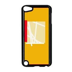 Basketball Apple Ipod Touch 5 Case (black) by Valentinaart