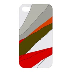 Decorative Abstraction Apple Iphone 4/4s Premium Hardshell Case by Valentinaart