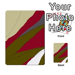 Decoratve Abstraction Multi Purpose Cards (rectangle)