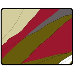 Decoratve abstraction Fleece Blanket (Medium)