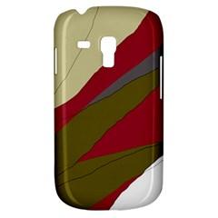 Decoratve Abstraction Samsung Galaxy S3 Mini I8190 Hardshell Case by Valentinaart