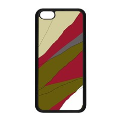 Decoratve Abstraction Apple Iphone 5c Seamless Case (black) by Valentinaart