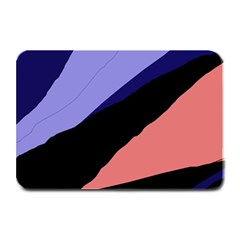 Purple And Pink Abstraction Plate Mats by Valentinaart