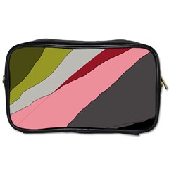 Colorful Abstraction Toiletries Bags by Valentinaart