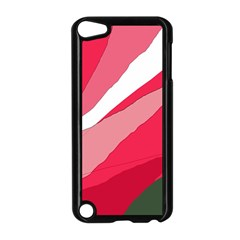 Pink Abstraction Apple Ipod Touch 5 Case (black)
