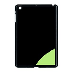 Green Ball Apple Ipad Mini Case (black) by Valentinaart