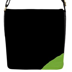 Green Ball Flap Messenger Bag (s) by Valentinaart