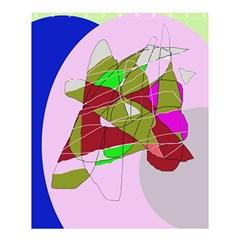 Flora Abstraction Shower Curtain 60  X 72  (medium)  by Valentinaart