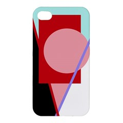 Decorative Geomeric Abstraction Apple Iphone 4/4s Hardshell Case by Valentinaart