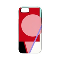 Decorative Geomeric Abstraction Apple Iphone 5 Classic Hardshell Case (pc+silicone) by Valentinaart