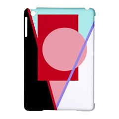 Decorative Geomeric Abstraction Apple Ipad Mini Hardshell Case (compatible With Smart Cover) by Valentinaart
