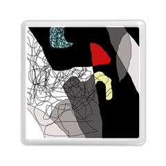 Decorative Abstraction Memory Card Reader (square)  by Valentinaart