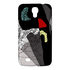 Decorative Abstraction Samsung Galaxy Mega 6 3  I9200 Hardshell Case by Valentinaart