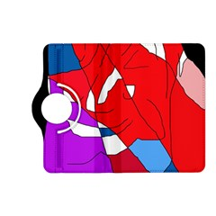 Colorful abstraction Kindle Fire HD (2013) Flip 360 Case by Valentinaart