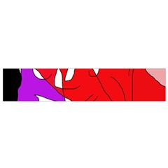 Colorful Abstraction Flano Scarf (small) by Valentinaart