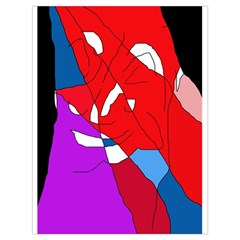 Colorful Abstraction Drawstring Bag (large) by Valentinaart